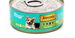 喂食狗罐头的注意事项